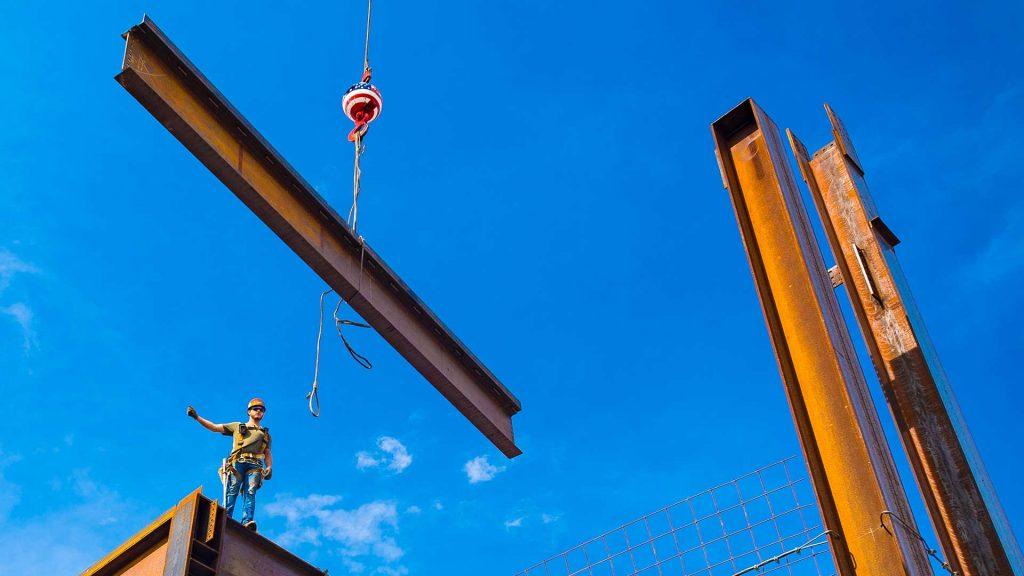 Union Construction Project Crane