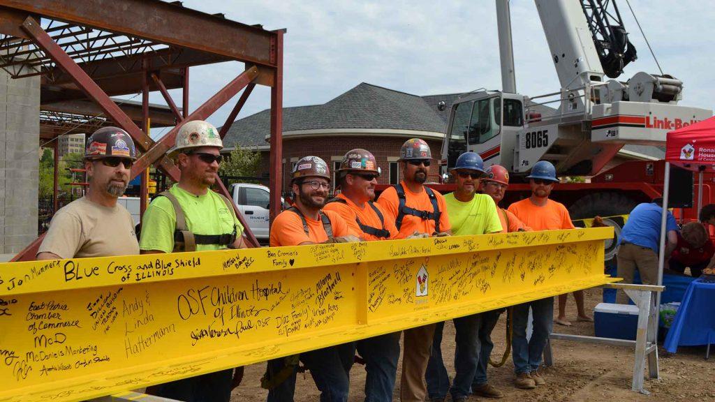 Union Members on Job