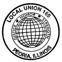 Laborers Local 165 Logo