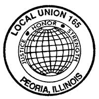 Laborers Local 165 Logo